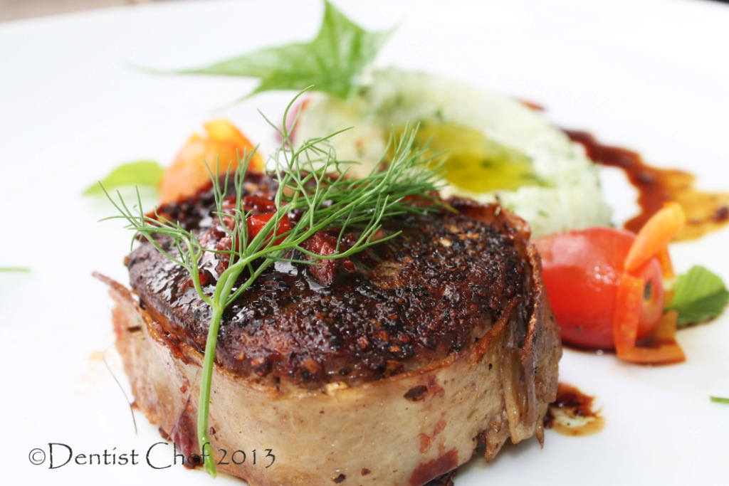 filet mignon with bacon cream filet mignon with bacon cream filet ...
