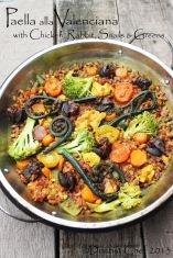 paella valenciana recipe chicken rabbit snails spanish rice