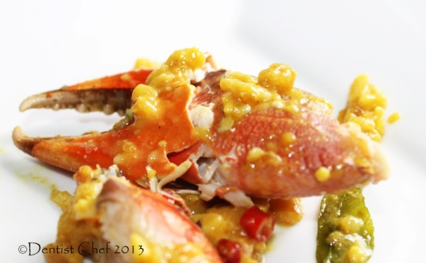 recipe crab salted egg yolk sauce