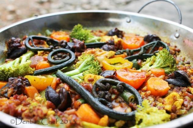 recipe paella valenciana rabbit snail paella spanish rice saffron