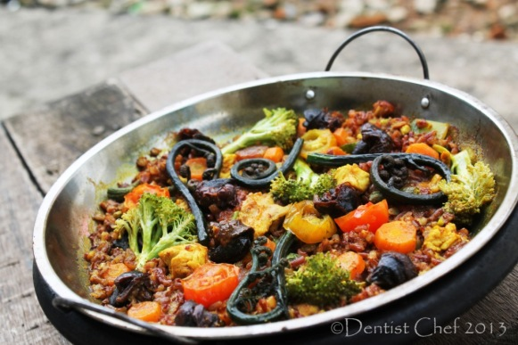 recipe valencian paella chicken rabbit snail spanish rice