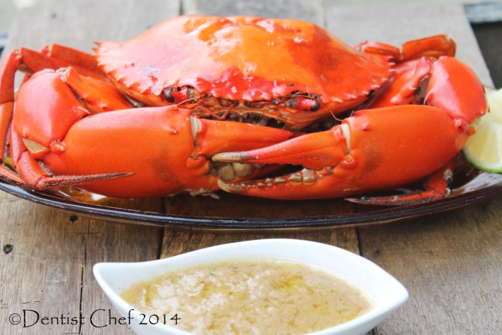 butter herbs crab recipe | DENTIST CHEF