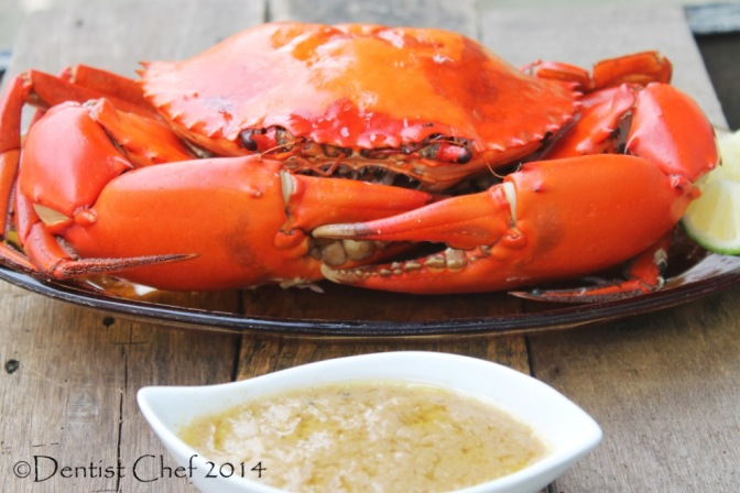 baked crab recipe butter garlic basil crab gravy