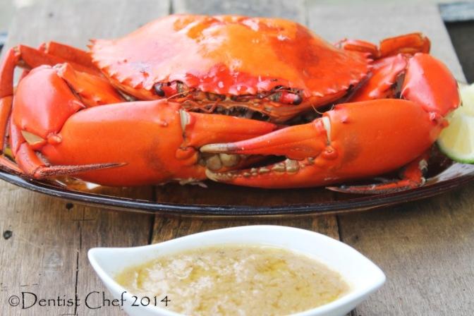baked crab recipe butter garlic basil crab gravy