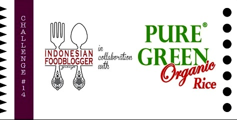indonesian food blogger chalange olahan beras puregreen