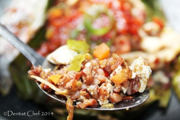Nasi bakar resep beras merah organik puregreen