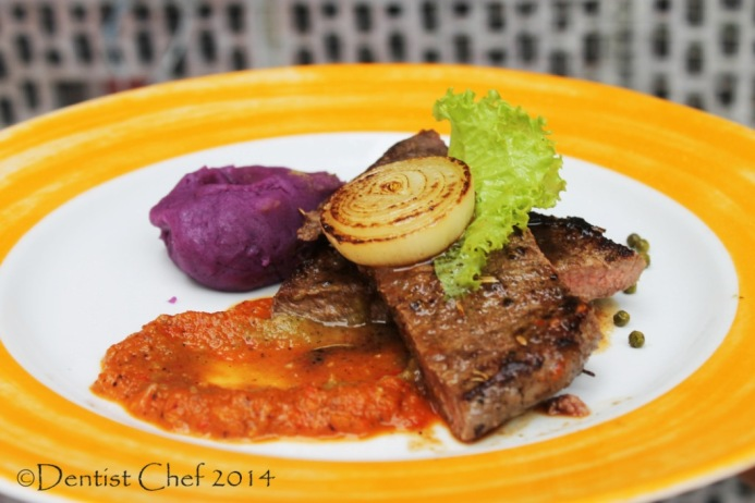 recipe grilled wagyu beef steak pepper sauce