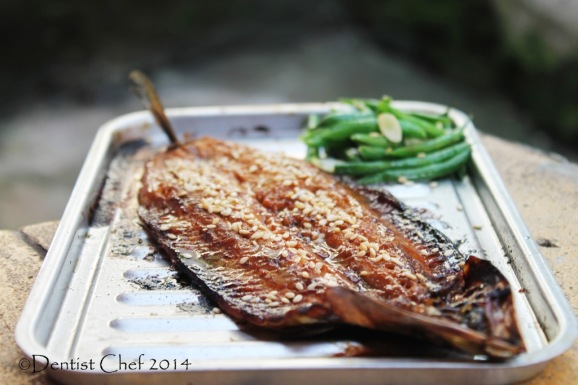 Sanma kabayaki recipe japanese style broiled pacific saury for Grilled white fish recipes