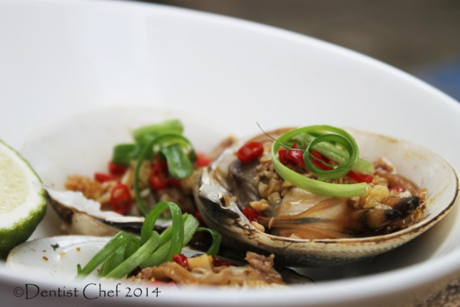 steamed clams recipe chinese style garlic ginger chili soy sauce