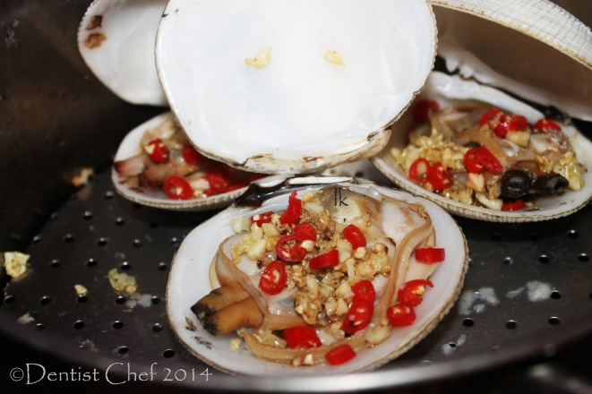 STEAMED CLAMS RECIPE WITH GARLIC GINGER CHILI CHINESE CLAM STEAM