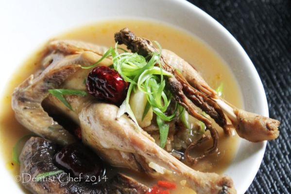 Samgyetang Korean Chicken and Ginseng Soup Recipe