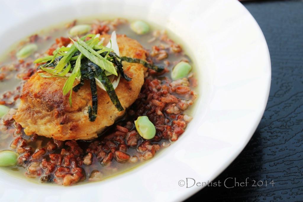 Chazuke recipe green tea stock dashi recipe dentist chef for Fish stock recipe