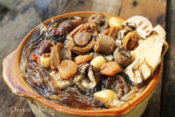 homemade buddha jump over the wall soup recipe shark fin double boiled