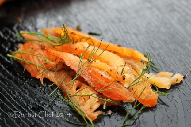 homemade salmon gravlax recipe easy cured salmon fillet