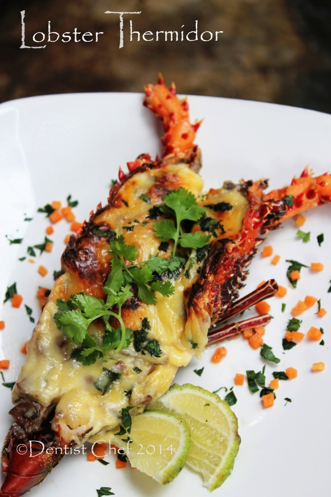 Lobster Thermidor Recipe (Roasted Spinny Lobster with Creamy Bechamel ...