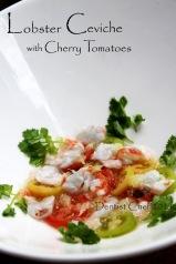 recipe lobster ceviche with tomato lemon lobster recipe
