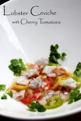 recipe lobster ceviche with tomato lemon lobster recipe