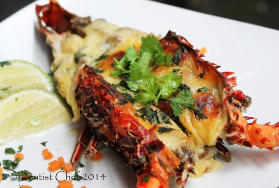 Lobster Thermidor with Tarragon and Mustard Powder