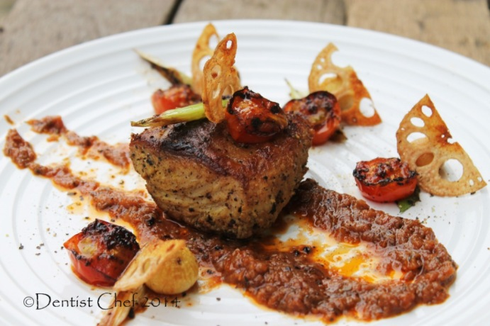 recipe pan fried grouper fillet seared toasted tomato sauce