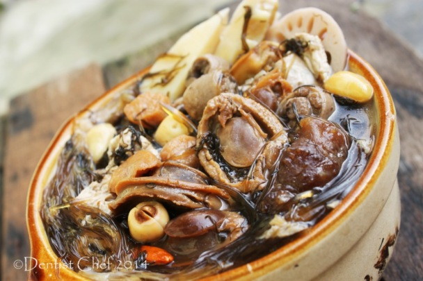 recipe soup buddha jump over the wall shark fin abalone sea cucumber