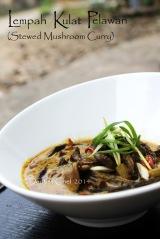 resep lempah kulat pelawan khas bangka stewed mushroom curry