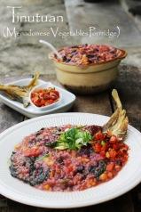 resep tinutuan bubur manado vegetable rice porridge