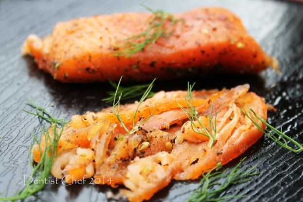 salmon gravlax recipe homamade cured salmon
