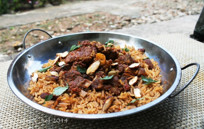 lamb mandi rice recipe arabian goat mandhi mutton meat spicy rice