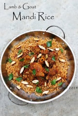 lamb mandi rice recipe arabian mutton basmati rice mandhi goat