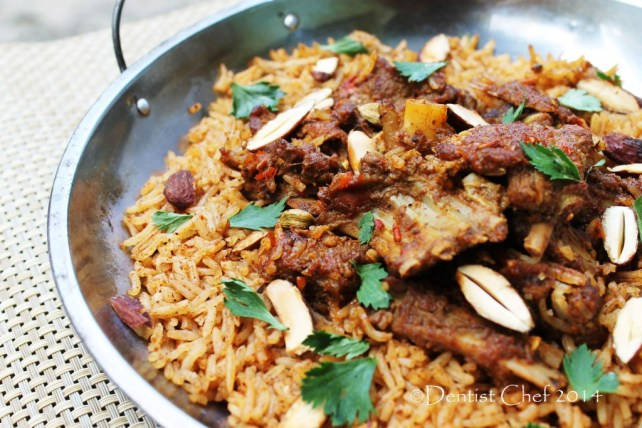 recipe lamb mandi rice basmati mandhi goat mutton