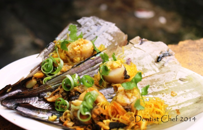 steamed sea scallop with garlic ginger chinese style