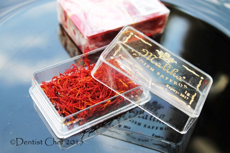 genuine spanish saffron recipe