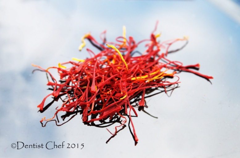 spanish saffron recipe