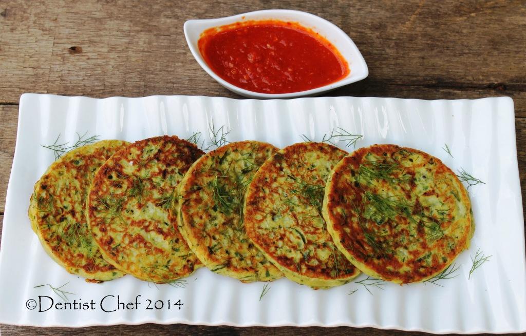 Recipe Savoury Zucchini Pancake (Gluten Free Courgette ...