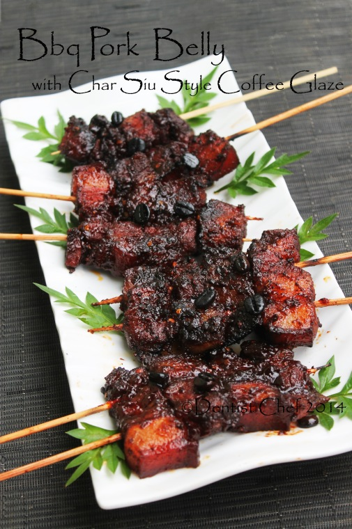 Smoked Pork Belly Marinated In Char Siu Sauce Recipes — Dishmaps