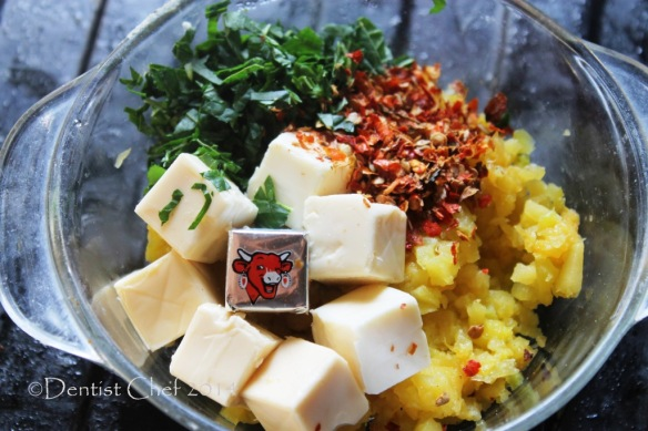 recipe cheese stuffed pumpkin blossom flower squash laughing cow cheese cube recipe