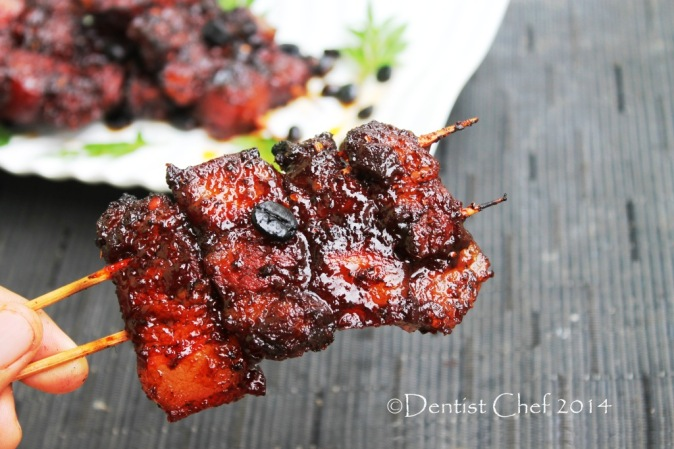 recipe grilled pork belly with sticky honey coffee glazed chinese style