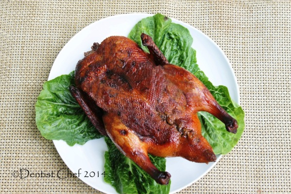 roasted peking duck recipe chinese crispy skin roast duck dentist chef bebek peking panggang