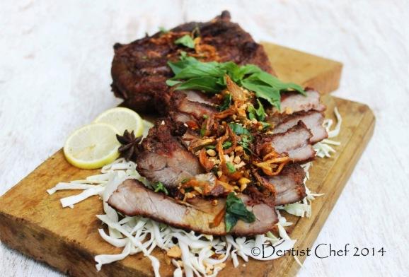 baby back ribs barbequed recipe balinese style pork ribs sweet soy sauce resep babi panggang kecap mais