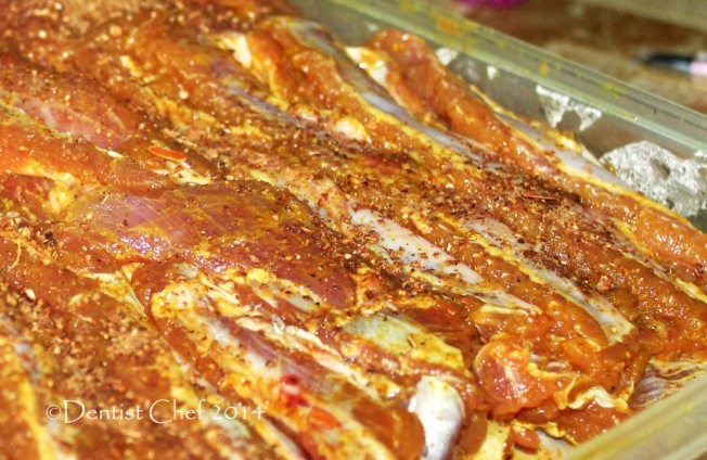 how to cook marinated pork ribs in oven