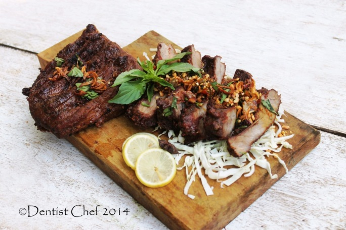 boneless baby back ribs spicy balinese barbeque recipe grilled pork ribs bali style babi panggang