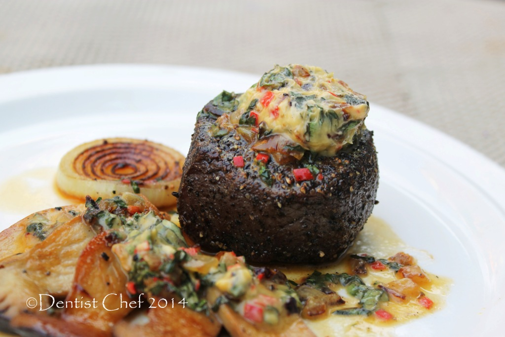 Steak Tenderloin In A Mushroom And Blue Cheese Sauce Recipes ...