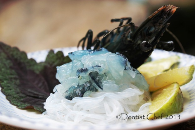 ebi sashimi how to make raw shrimp sashimi live tiger black prawn sashimi