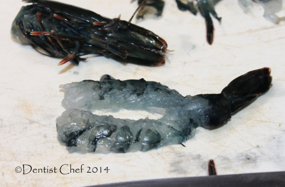 how to slice live prawn sashimi japanese raw shrimp ebi sashimi serve over rice vermicelly
