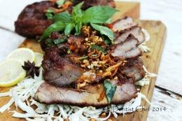 Balinese Style Barbequed Baby Back Ribs (Indonesian Sweet Soy Sauce Glazed Grilled Pork Ribs/Resep Babi Panggang BumbuBali)
