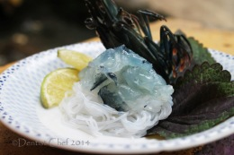 Recipe Ebi Sashimi (Japanese Sliced Raw Live Shrimp or Prawn, Served with Soy SauceDip)