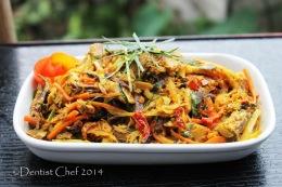 Resep Pampis Ikan Cakalang Fufu Khas Manado (Menadonese Spicy Shredded Smoked SkipjackTuna)