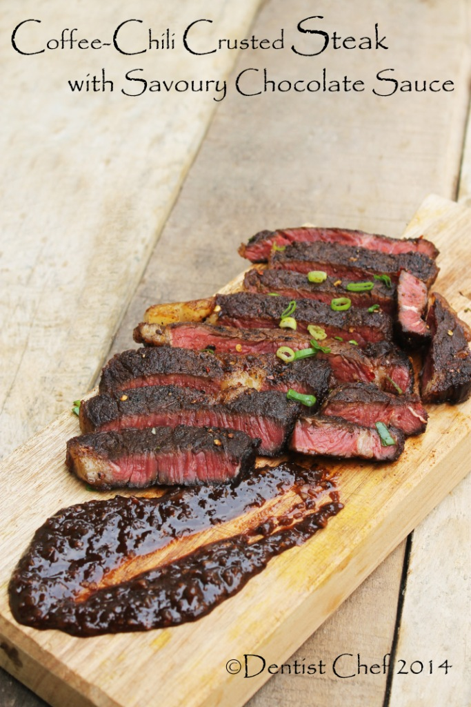 Chili Coffee Rubbed Beef Steak Recipe Dentist Chef