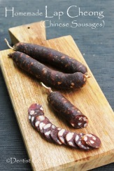 homemade lap cheong chinese sausage recipe how to make dry chinese sausage