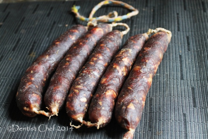 homemade lap cheong recipe waxed chinese sausage how to make dry cured sausage